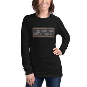 Unisex Long Sleeve CT&L Square Logo